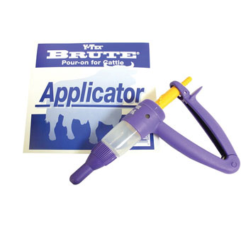 EXCELLENCE IN ANIMAL HEALTH™ BRUTE® POUR-ON STANDARD APPLICATOR