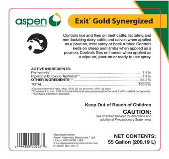 EXIT® GOLD SYNERGIZED 55 GALLON