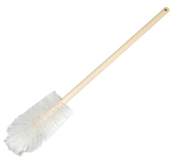 MILK BOTTLE BRUSH WITH 24 INCH HANDLE - EACH