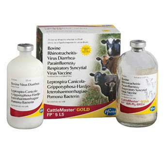 CATTLEMASTER GOLD FP® 5 L5 25 DOSES