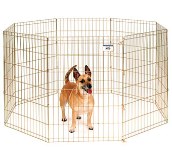 METAL PET EXERCISE PEN - 36IN - EACH