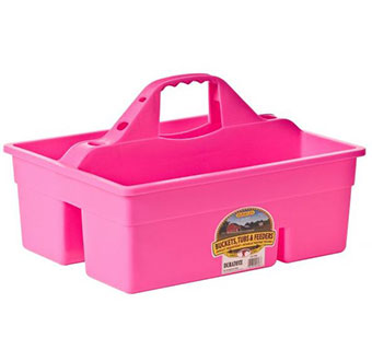 PLASTIC DURA TOTE - HOT PINK - EACH