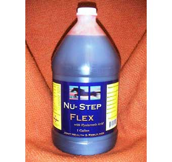 NU-STEP FLEX WITH HYALURONIC ACID -  GALLON - EACH