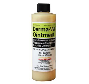 DERMA-VET™ OINTMENT 240 ML BOTTLE (RX)