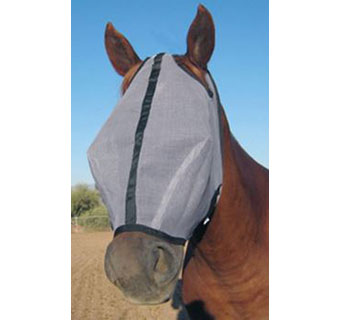 HORSE SENSE® FLY MASK EXTENDED - EACH