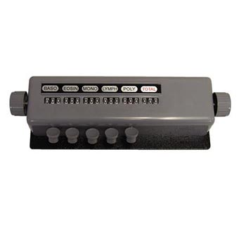 DIFFERENTIAL CELL COUNTER 1/PKG