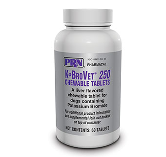 K-BROVET® CHEW TABS - 250MG - 60/BOTTLE - EACH
