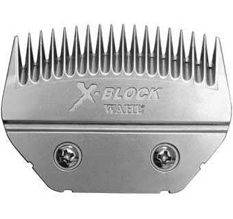 WAHL X-BLOCK COMPETITION SERIES DETACHABLE BLADE  - CATTLE BLOCKING BLADE