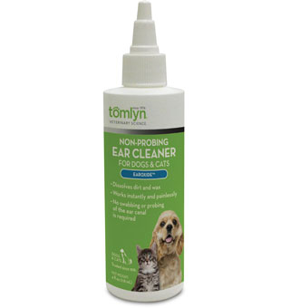 NON-PROBING EAR CLEANER FOR DOGS AND CATS EAROXIDE™ 4 OZ