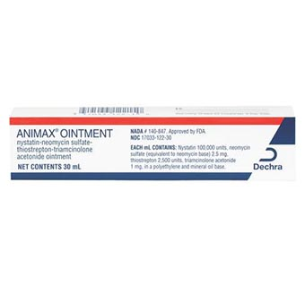 ANIMAX OINTMENT 30 ML TUBE (RX)