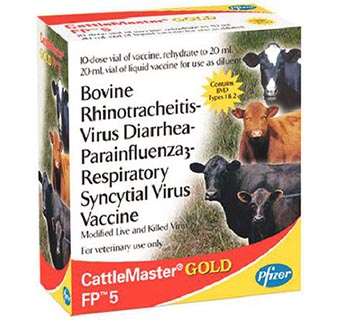 CATTLEMASTER® GOLD FP® 5 10 DOSES
