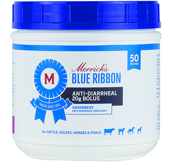 MERRICK'S® ANTI-DIARRHEAL 20 G BOLUS FOR CATTLE 50 BOLUSES/PKG