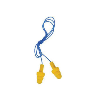 E-A-R™ ULTRAFIT™ CORDED EAR PLUG ONE SIZE FITS MOST YELLOW 1 PR/PKG
