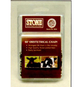 OBSTETRICAL CHAIN (STONE) 60 IN