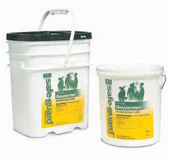 SAFE-GUARD® TYPE B MEDICATED 1.96% FLAKE MEAL 25 LB PAIL