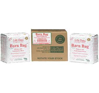 BARN BAG PLEASURE AND PERFORMANCE HORSE FEED CONCENTRATE BAG 2X11 LB