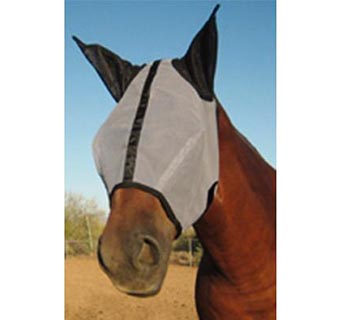 HORSE SENSE® FLY MASK WITH EARS FOR HORSE
