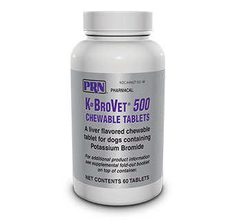 K-BROVET® CHEW TABS (RX) - 500MG - 60/BOTTLE - EACH