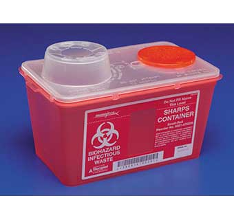 MONOJECT™ VERTICAL DROP CONTAINERS SMALL 4 QUART
