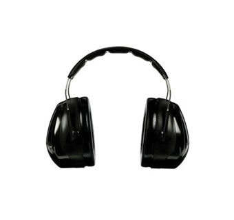 PELTOR® OPTIME™ PREMIUM HEARING PROTECTOR ONE SIZE FITS MOST BLACK/GREEN