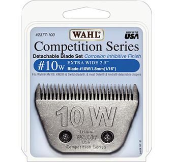 WAHL® CLIPPER BLADES COMPETITION SERIES #10W