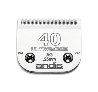 ANDIS® ULTRAEDGE® CLIPPER BLADES SIZE 40 1/PKG