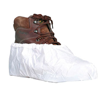 EPIC DISPOSABLE BOOTS AND SHOE COVER LINT-FREE POLYETHYLENE WHITE 150 PR/CS