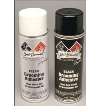 DOC BRANNENS GROOMING ADHESIVE 13 OZ AEROSOL CAN CLEAR