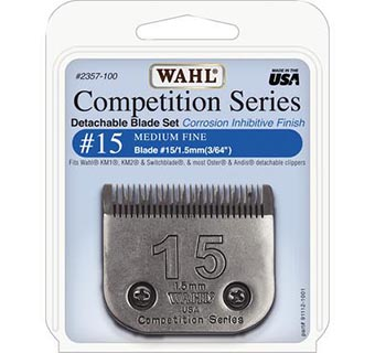 WAHL® CLIPPER BLADES COMPETITION SERIES #15