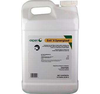 EXIT® II SYNERGIZED 2.5 GALLON