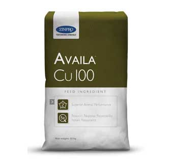 AVAILA®CU 100 NUTRITIONAL FEED INGREDIENT FOR LIVESTOCK AND POULTRY 25 KG