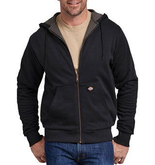 HOODIE THERM FLEECE LINED 3X BLK