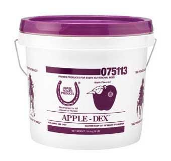 APPLE DEX ELECTROLYTES 30 LB PAIL
