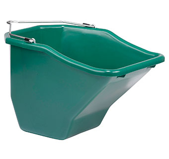 PLASTIC BETTER BUCKET - 20 QUART - GREEN - EACH