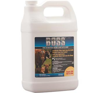 BOSS® POUR-ON INSECTICIDE GALLON