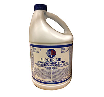 BLEACH PURE WHITE 1GAL