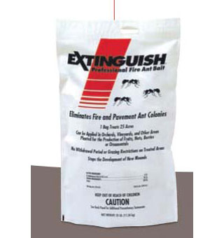 STARBAR® EXTINGUISH® PROFESSIONAL FIRE ANT BAIT 25 LB BAG