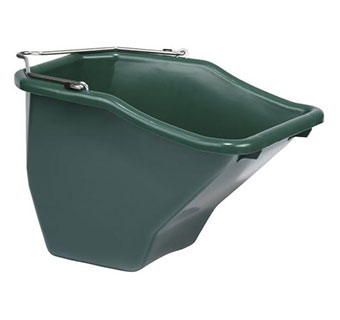 PLASTIC BETTER BUCKET - GREEN - 10 QUART - EACH