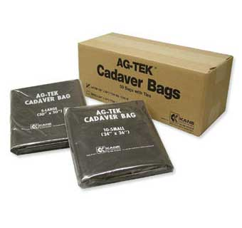 CADAVER BAGS 24 X 30 SMALL BAGS 50 COUNT