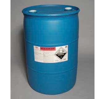 DELTA CLEAN ACID LOW FOAMING SINGLE CYCLE ACID CLEANER 50 GALLON