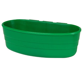 PLASTIC CAGE CUP - 1 PINT - GREEN - EACH