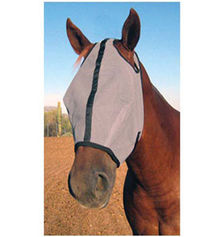 HORSE SENSE® EXTENDED FLY MASK WITH EAR