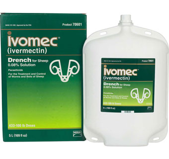 IVOMEC® READY-TO-USE IVERMECTIN DRENCH SOLUTION SHEEP 5 L