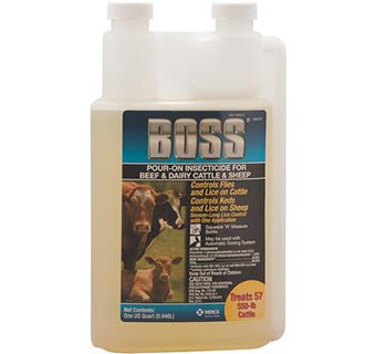 BOSS® POUR-ON INSECTICIDE QUART