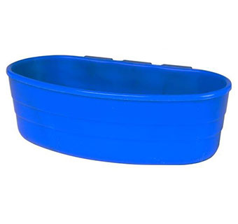 PLASTIC CAGE CUP - 1 PINT - BLUE - EACH