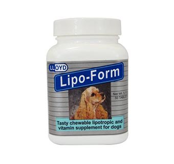 LIPO-FORM CHEWABLE TABLETS 50/BOTTLE