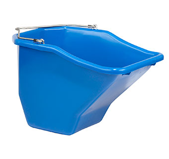 PLASTIC BETTER BUCKET - 20 QUART - BLUE - EACH
