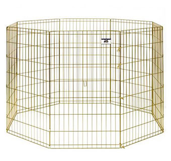 METAL PET EXERCISE PEN - 42IN - EACH