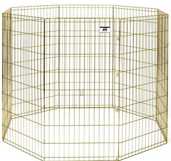 METAL PET EXERCISE PEN - 48IN - EACH
