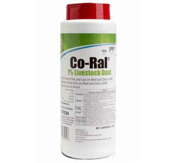 CO-RAL COUMAPHOS CATTLE DUST 1% 2 LB CAN